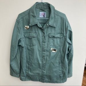 Justice 20 plus Women's Jeans Jacket